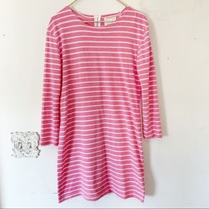 NEW ~ Sail to Sable Striped Shift Dress